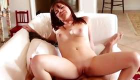 Unique whorish babe is drilled with a powerful dickie