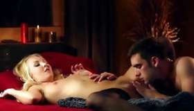 Pervy couple has the amazingly delicate smacking